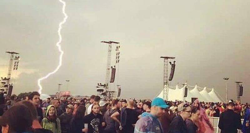 Rock am Ring 2016 lightning