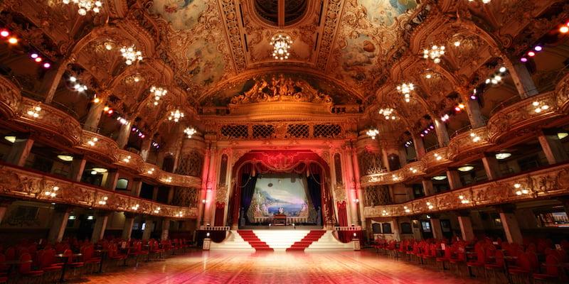 Blackpool Tower Ballroom, Michael Beckwith
