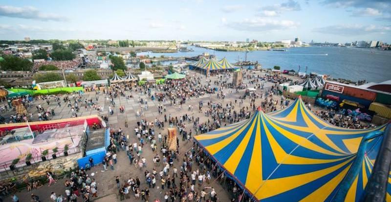 Encore Festival, NDSM wharf, Amsterdam