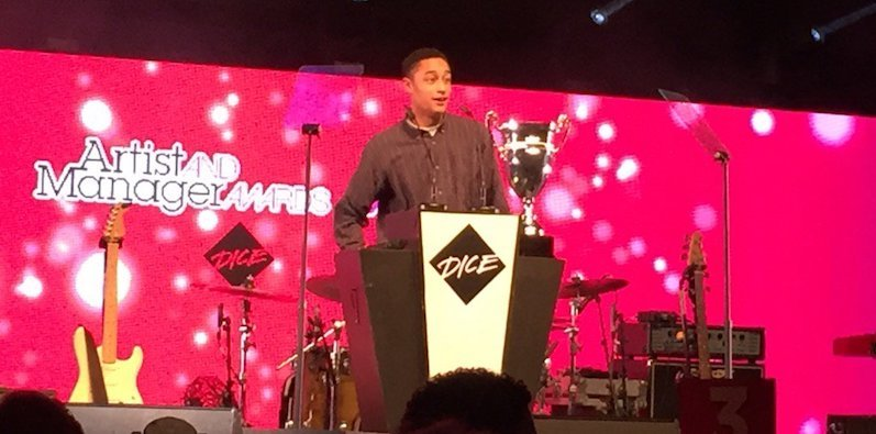 Loyle Carner, Artist and Manager Awards 2016, MMF