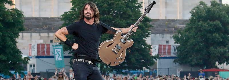 Dave Grohl, Foo Fighters, Nürnberger Nachrichten/Günter Distler