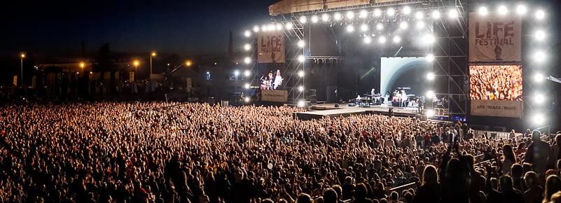Life Festival, Oświęcim (Auchwitz), Poland
