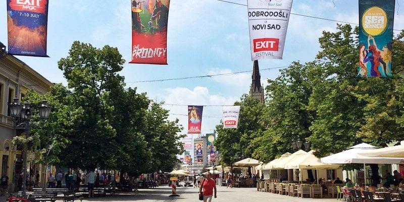 Novi Sad, Exit Festival 2016