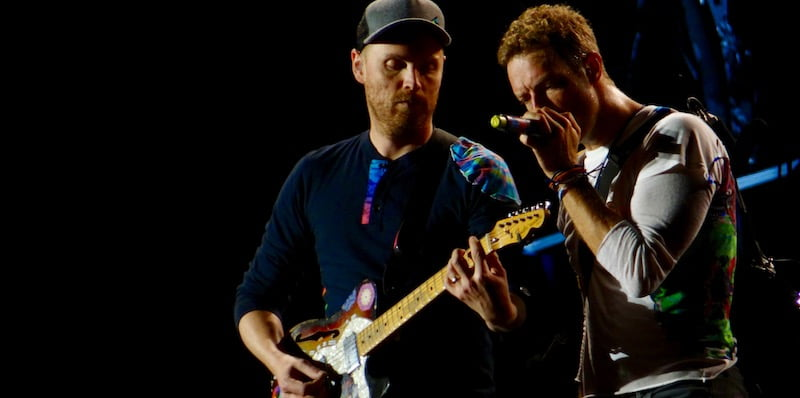 Coldplay, Barcelona, June 2016, Daniele Dalledonne