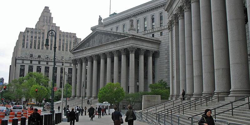 New York State Supreme Court, 60 Centre Street, William Avery Hudson