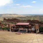 Red Rocks Amphitheatre, Denver, Jesse Goodier