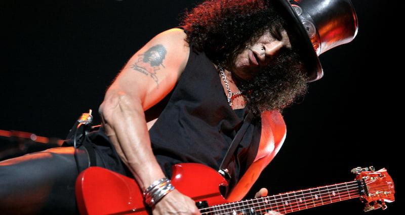 Slash, Guns N' Roses (GNR), Daigo Oliva