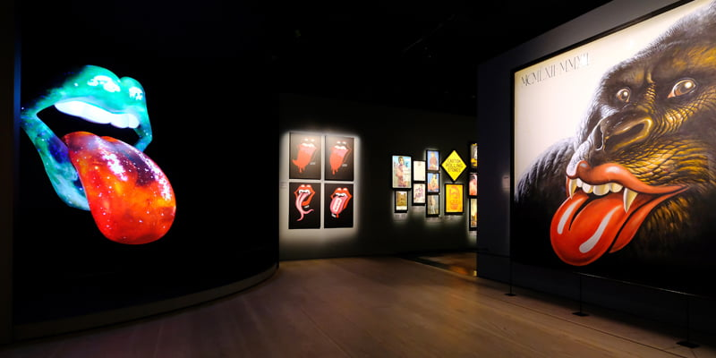 Exhibitionism, The Rolling Stones, touring expos