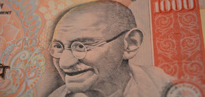 1,000 rupee note