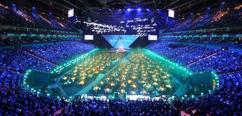 Brit Awards 2015, The O2, London