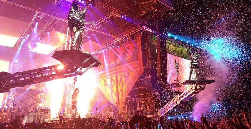 Kiss, Rockavaria 2015, Global Concerts, DEAG