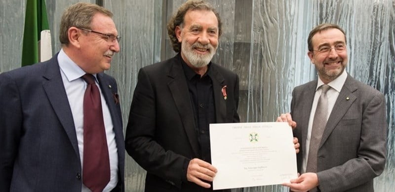 Pino Sagliocco, Order of the Star of Italy
