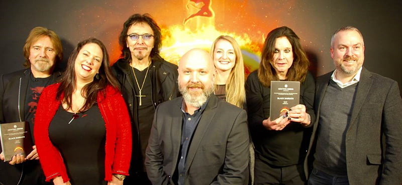 Black Sabbath, Ellie Coombes, Ian Congdon, Becky Humphries, Guy Dunstan, Genting Arena, Birmingham