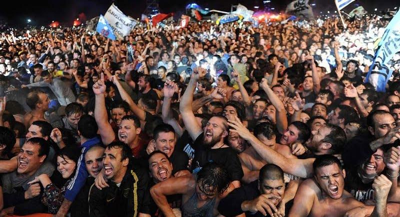 Indio Solari fans, Olavarria, 11 March 2017