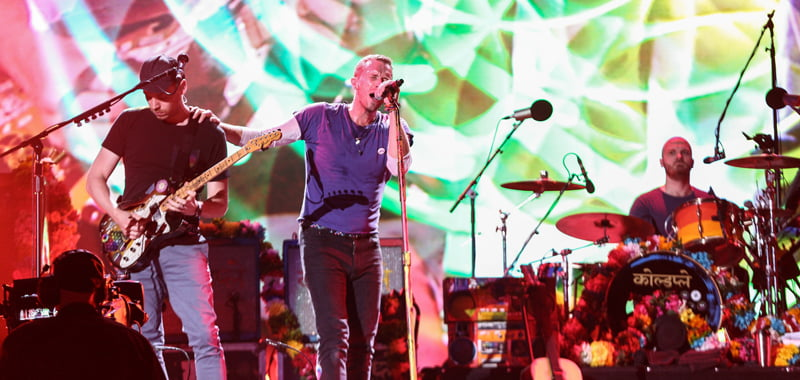 Coldplay, Abu Dhabi, Flash Entertainment, Middle East feature