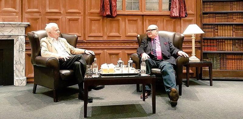 Ed Bicknell, Paul McGuinness, ILMC 29 Breakfast Meeting
