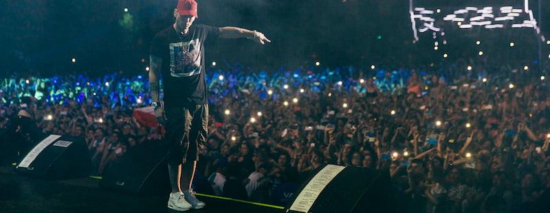 Eminem, Lollapalooza Chile 2016