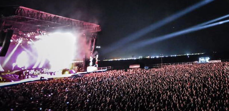 Guns N' Roses, Changi Exhibition Centre, Singapore, LAMC Productions, Sandpiper Digital Payments Asia