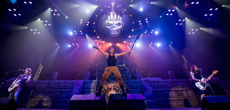 Iron Maiden, Auditorio Citibanamex, Monterrey, Mexico, March 2016, The Book of Souls world tour