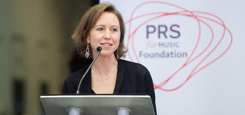 Vanessa Reed, PRS Foundation, The Composers' Fun launch, Women Make Music