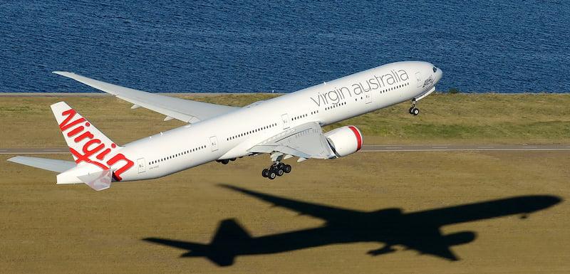 Virgin Australia 777-3ZGER, Sydney Airport, Damien Aiello