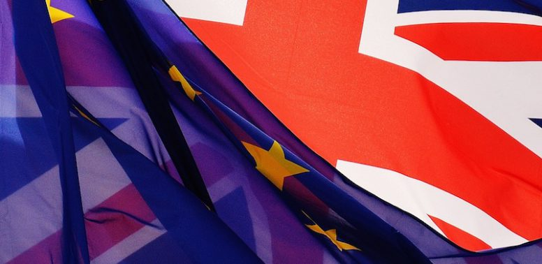Brexit, UK flag, EU flag, UK Music