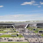 New Aberdeen Exhibition and Conference Centre (AECC), artist'simpression