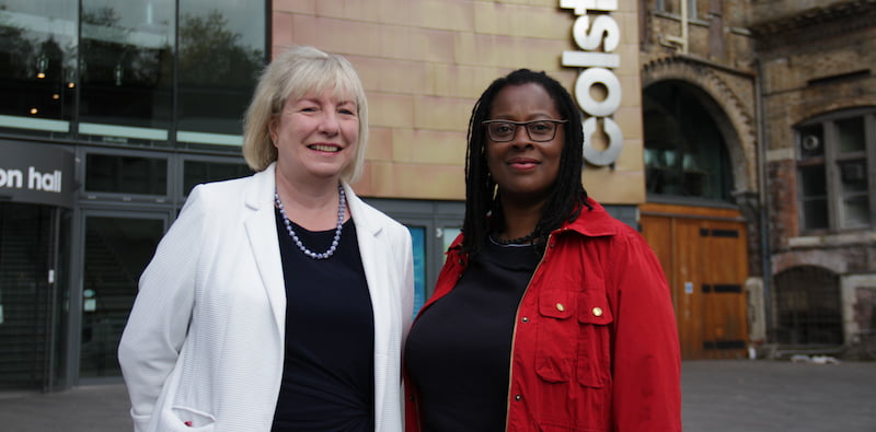 Louise Mitchell, Marti Burgess, Colston Hall, Bristol Music Trust