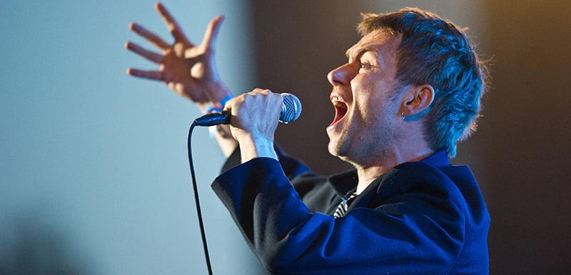 Damon Albarn, Gorillaz, Roskilde Festival 2010