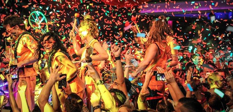 Elrow party, Space Ibiza