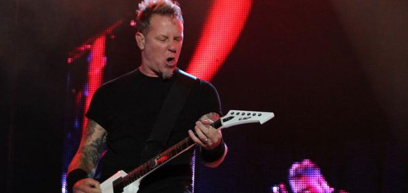 James Hetfield, Metallica, Rock in Rio 2011, Brazil, StubHub Q1 results