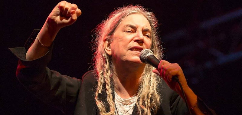 Patti Smith, Byron Bay Bluesfest 2017, Australia