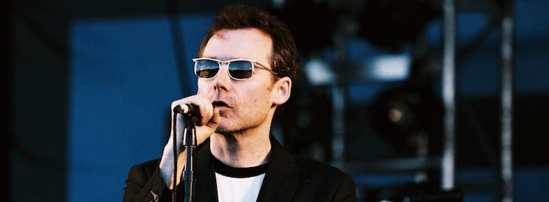 Jim Reid, The Jesus and Mary Chain, V Festival 2008, Sydney