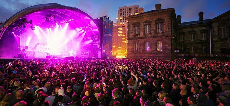 Belsonic Festival 2014, Belfast, Northern Ireland