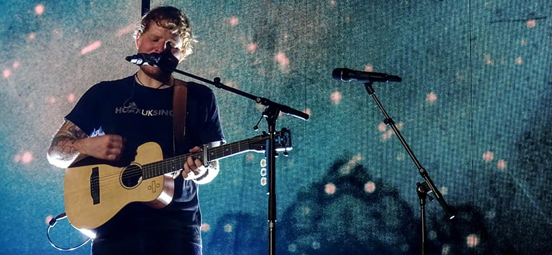 Ed Sheeran, Antwerps Sportpaleis, Divide tour, 2017, Twickets/Frontier Touring