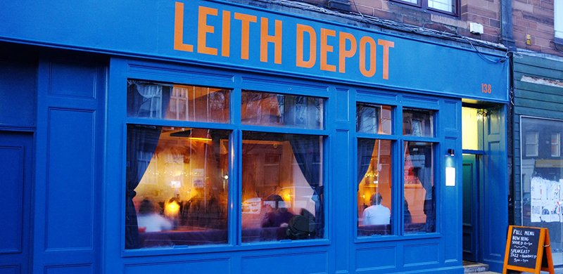 Leith Depot, Edinburgh, night mayors
