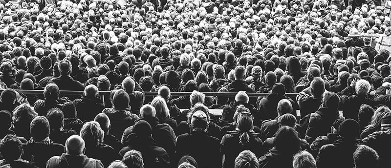 Festival audience, MMF Music Managers Guide To Mental Health