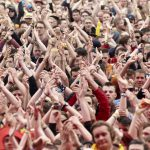 Festivalgoers, Rock am Ring 2016, MLK Rock im Park
