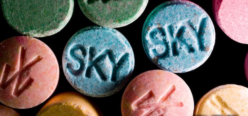 ecstasy pills, DEA