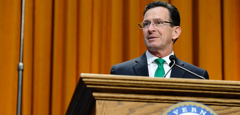 Dan Malloy, Connecticut governor inauguration
