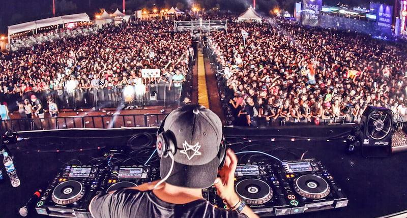 Israeli DJ Borgore performs at Hellow 2016