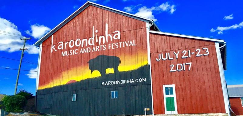 Karoondinha Music & Arts Festival ad