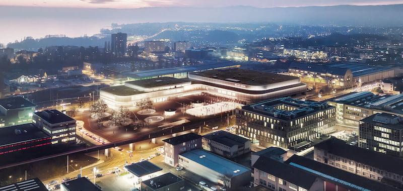 New Lausanne arena, Lausanne HC, AEG Facilities