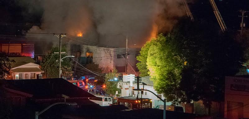 Ghost Ship fire, Oakland, California