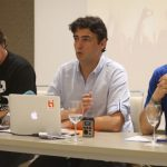 Joan Colet, Javier Andrés, Neo Sala, Ticketea press conference, Spain