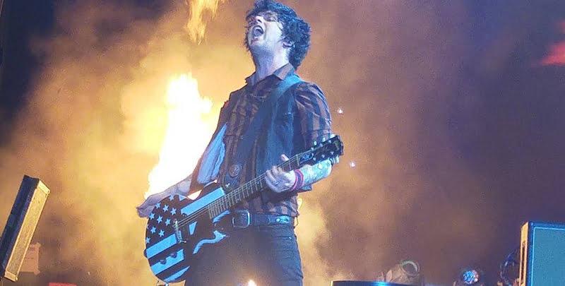 Billie Joe Armstrong, Green Day, Mad Cool Festival 2017, Madrid, Spain, Meytal Markovich