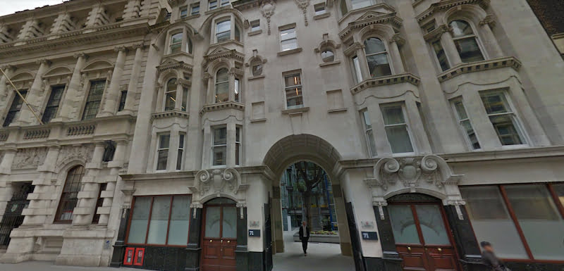 71 Fenchurch Street, VGL Services offices