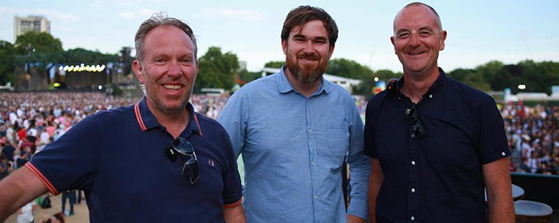 Dave Grindle, Dan Craig, Steve Reynolds, Loudsound, BST Hyde Park 2017