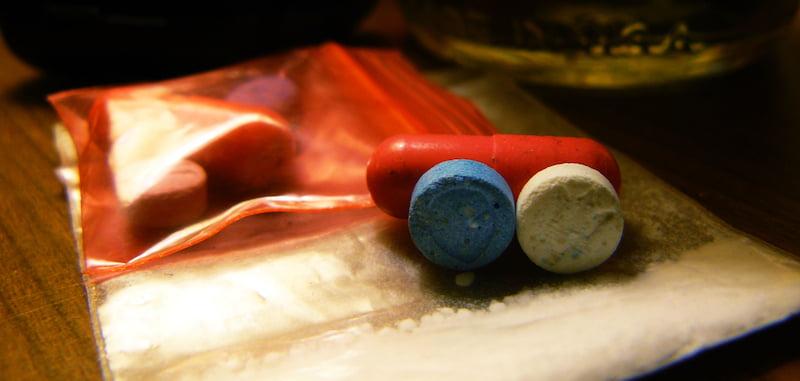 Ecstasy pills, MDMA