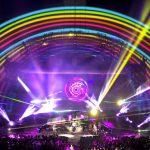 Coldplay Mylo Xyloto tour, Hollywood Bowl, California